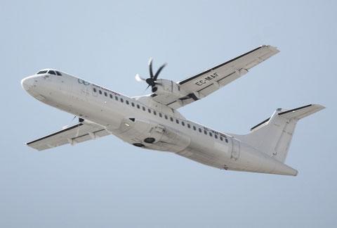 "ATR 72-212A "" EC-MAF ""  Air Europa -1"