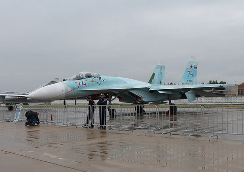 "SU 27SM "" 74 ""  RF-95255  Russian Air Force -2"