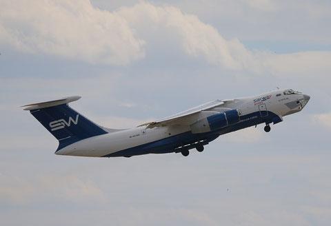 "IL 76TD-90SW "" 4K-AZ100"" Silk Way Airlines -7"