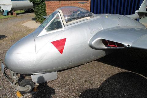 """De Havilland Vampire DH.100 Mk 6  """" J-1008 """" SwAF -3"""