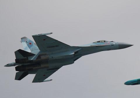 """SU 35S """" 07 """" RF-95849  Воздушно-космические силы        ( ВКС ) Россия -2"""
