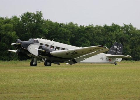 """Ju-52/3m g4e """" HB-HOS """" JU-Air -7"""
