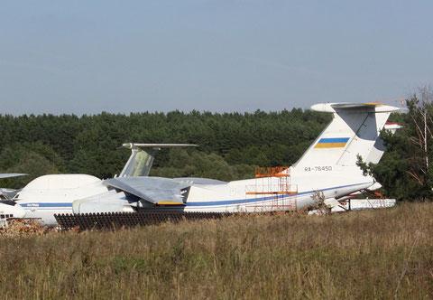 "IL 76WKP "" RA-76450 "" Russian Air Force -1"