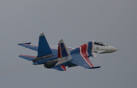 """SU 30SM """" 37 """"  RF-81722  Воздушно-космические силы  ( ВКС ) Россия -1"""