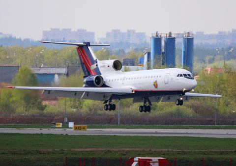 """Jak 42D """" RA-42411 """" RusJet -1"""