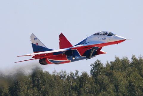 """MiG 29UB """" 02 """"  RF-91946  Воздушно-космические силы ( ВКС ) Россия -4"""