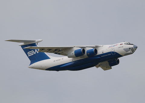 "IL 76TD-90SW "" 4K-AZ100"" Silk Way Airlines -3"