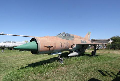 "MiG 21MF "" 9712 ""  Slovak Air Force -1"
