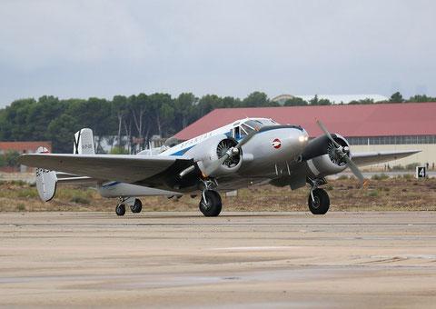Beech18 EC-ASJ-3