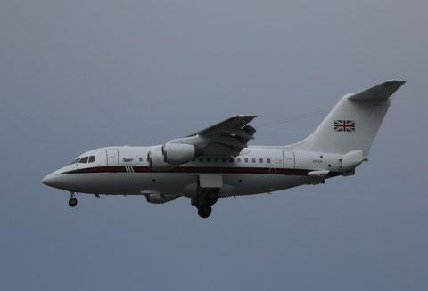 "BAe 146-100 Statesman  "" ZE700 ""  Royal Air Force -1"