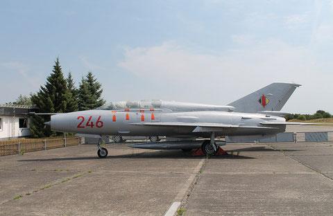 """MiG 21US """" 246 """" NVA -1"""