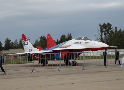 "MiG 29C  "" 08 "" "" Strishis "" Kubinka AFB / Russian Air Force -2"