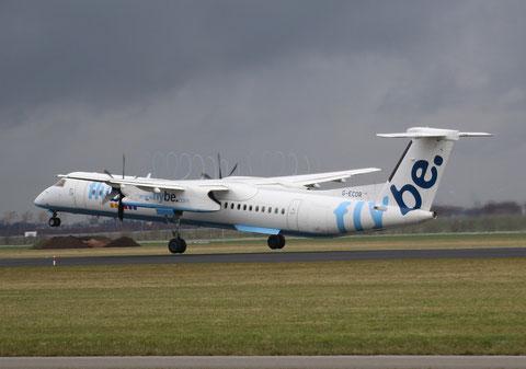 "DHC-8-402 Dash 8 "" G-ECOR "" Flybe -1"