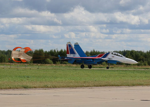 "SU 30SM "" 33 ""  RF-81704 Russian Air Force / Russian Knights -1"