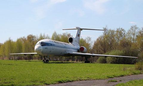 """TU 154B-2  """"  RA-85470 """"  Hochschule für Zivilluftfahrt Uljanowsk -3"""