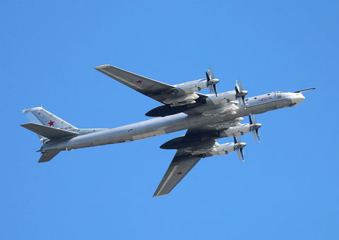 "TU 95MS "" RF-94128 "" Saratow  Russian Air Force -2"