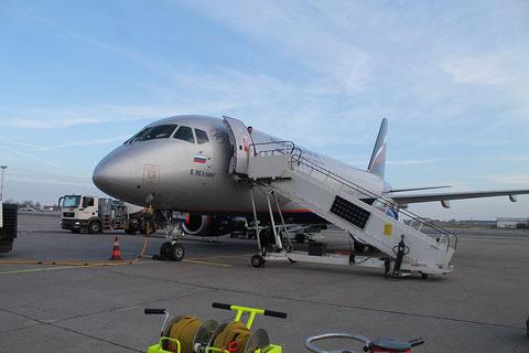 """Superjet 100-95 """" RA-89043 """" Aeroflot -2"""