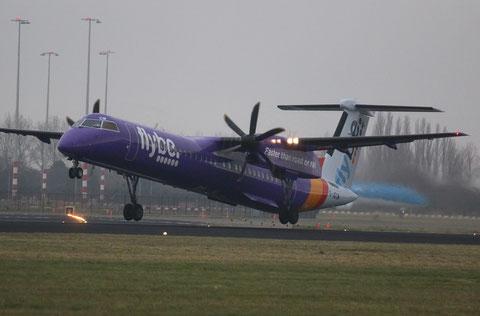"""DHC-8-402 Dash 8 """" G-JECM """" Flybe -1"""