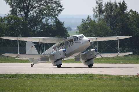 "De Havilland DH-89 Dragon Rapide  "" D-ILIT "" -1"