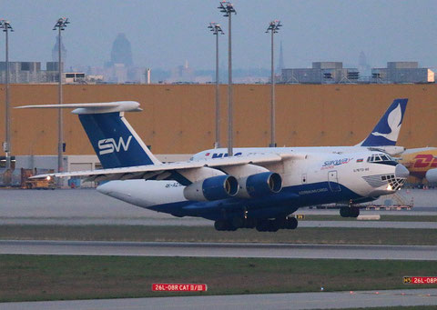 "IL 76TD-90SW "" 4K-AZ101 "" Silk Way Airlines -6"