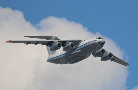 """IL 76MD-90  """" RF-78653 """" Russian Air Force -1"""