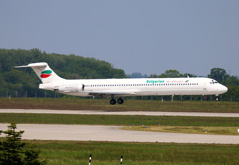 "MD 82 "" LZ-LDM "" Bulgarian Air Charter -1"