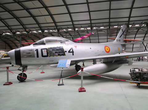 "F 86 Sabre "" C5-58 ""  Spanish Air Force -3"