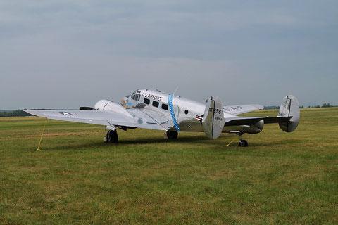 "Beechcraft C-45H Expeditor "" G-BSZC "" -3"