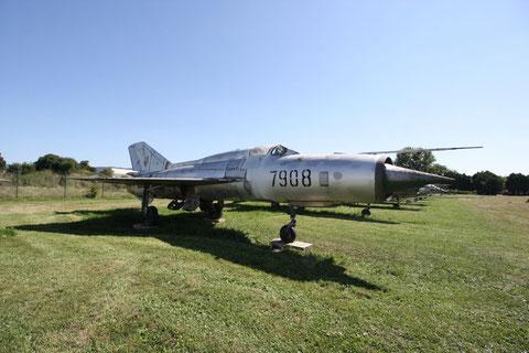 "MiG 21PFM "" 7908 ""  Czech Air Force -2"
