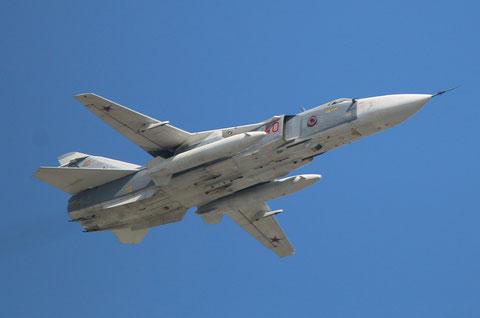 "SU 24M "" 40 ""  RF-92245 Russian Air Force -1"