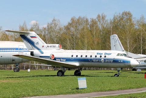"JAK 40  "" RA-87357 "" Volga Dnepr Airlines -1"