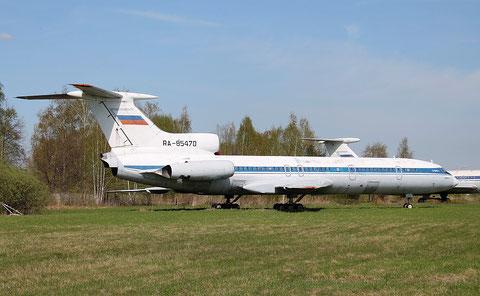 """TU 154B-2  """"  RA-85470 """"  Hochschule für Zivilluftfahrt Uljanowsk -1"""