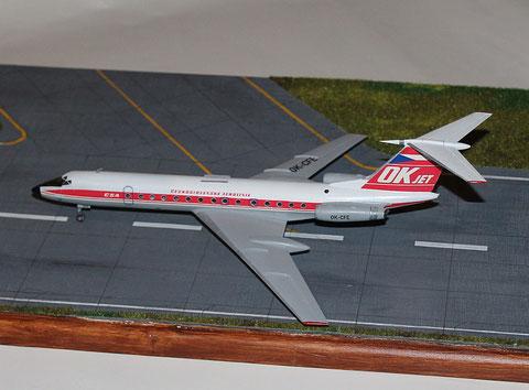 """TU 134A  """" OK-CFE """"    CSA   Zvesda 1/144 -1"""