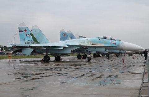 "SU 27SM "" 74 ""  RF-95255  Russian Air Force -1"