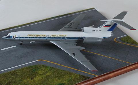 """TU 154M """" RA-85768 """"  Orenburg Airlines   Zvesda  1/144 -3"""