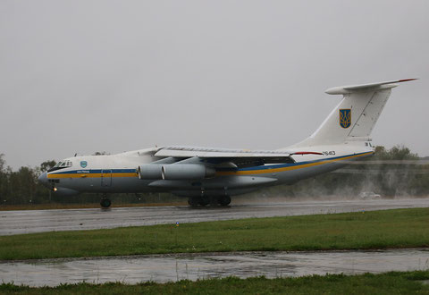 "IL 76MD "" 76413 "" Ukrainian Air Force -1"