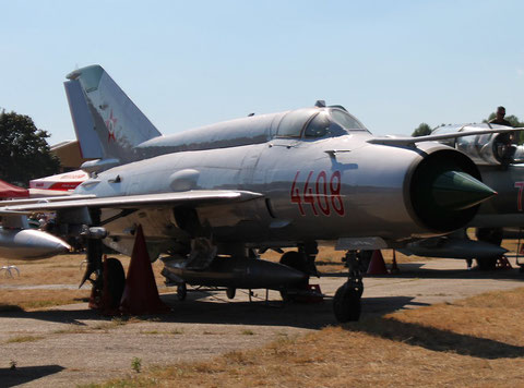 "MiG 21MF "" 4408 ""  Hungarian Air Force -1"