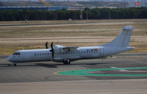 "ATR 72-212A "" EC-MAF ""  Air Europa -2"