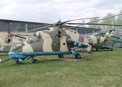 "Mi 24D  "" 46 ""  Russian Air Force -1"