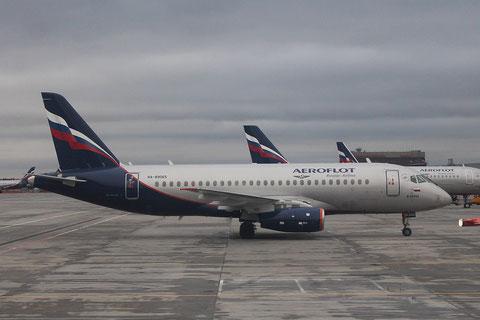 """Superjet 100-95B """" RA-89065 """" Aeroflot -2"""
