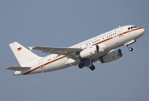 """A319-133X CJ """" 15+01 """"  Flugbereitschaft des Bundesministeriums der Verteidigung -1"""