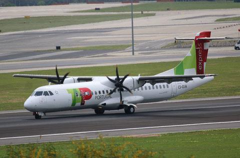 """ATR 72-212A (600) """" CS-DJA """"  TAP Express -2"""