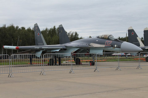 "SU 35S "" 02 ""  RF-95243  Russian Air Force -2"