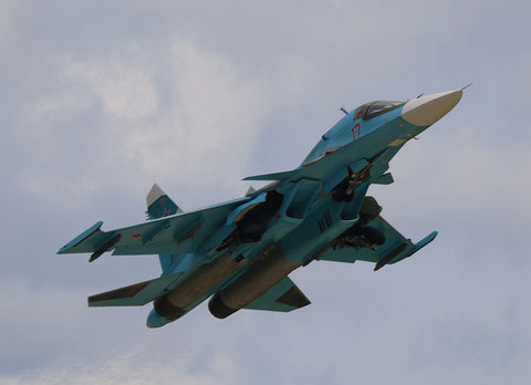 "SU 34 "" 17 ""  RF-95845   Russian Air Force -1"