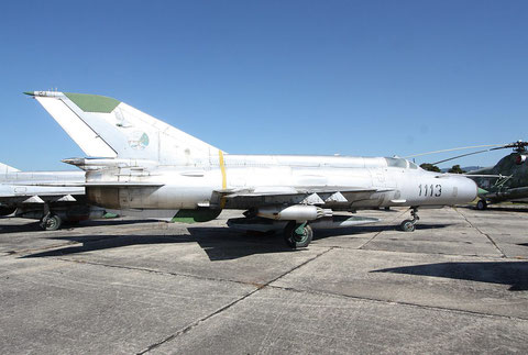 "MiG 21MF "" 1113 ""  Czech Air Force -2"