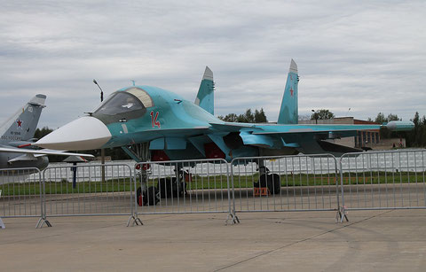 "SU 34 "" 14 ""  RF-95842   Russian Air Force -2"