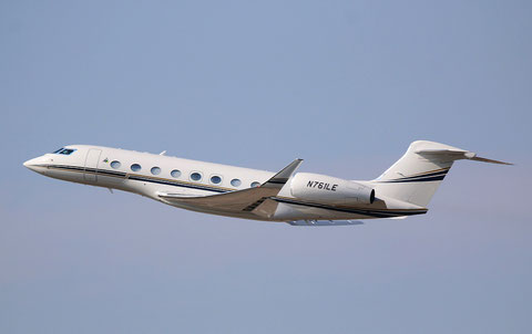 """Gulfstream GVI (G650) """" N761LE """"  BANK OF UTAH TRUSTEE -1"""