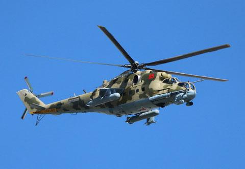 "MI 24P "" 05 ""   RF-95323  Russian Air Force -2"