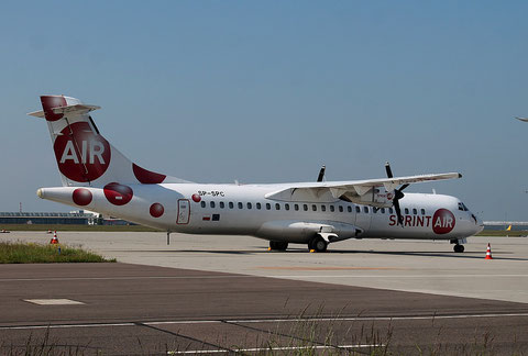 "ATR 72-202/F  "" SP-SPC ""  Sprint Air -2"