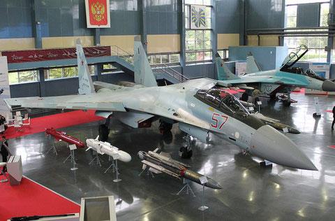 "SU 35S "" 57 ""  RF-81745  Russian Air Force -3"